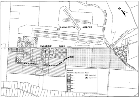 Map of Translink Industrial Precinct